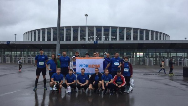 "Zavod sintanolov LLC TOOK PART IN THE RACE ""RUN, HERO!"""